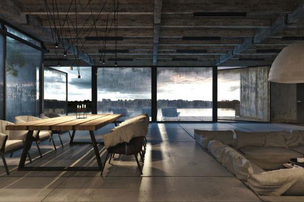 Cool Dramatic Interiors 7