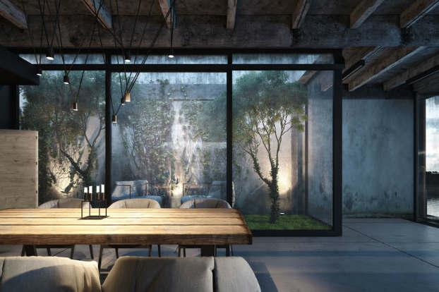 Cool Dramatic Interiors 8
