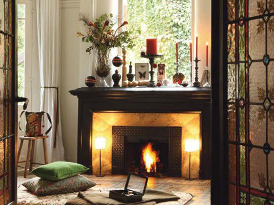 Fireplace Decorating Ideas 24