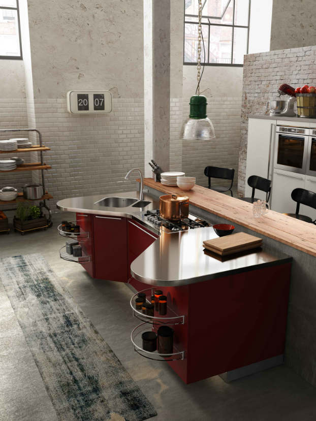 Skyline 2.0 New Kitchen Design by Snaidero - Decoholic