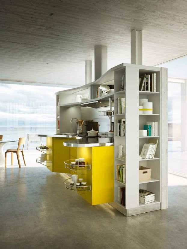 Skyline 2.0 New Kitchen Design by Snaidero yellow 2