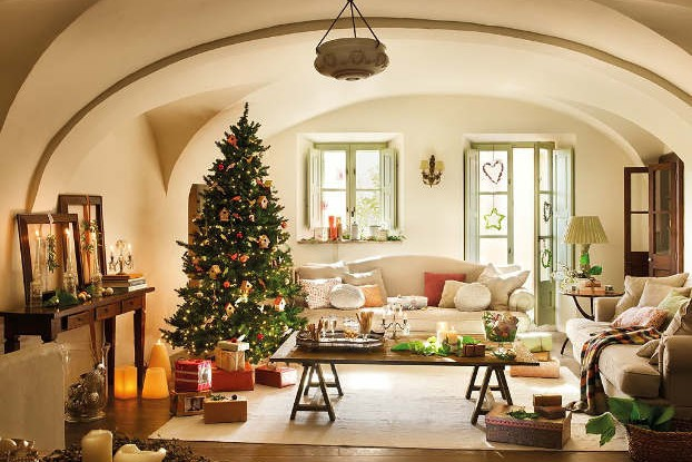 Serene Country Family House interior design