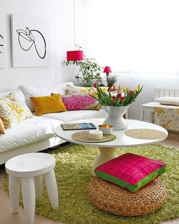 12 Colourful Quick Fixes For Your Living Room