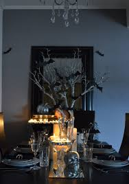 Elegant Halloween Table Decorations With Things You Already Have 4