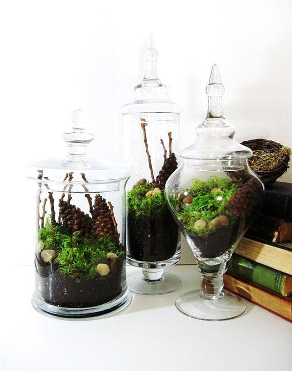 18 Ideas To Decorate With Apothecary Jars - Decoholic