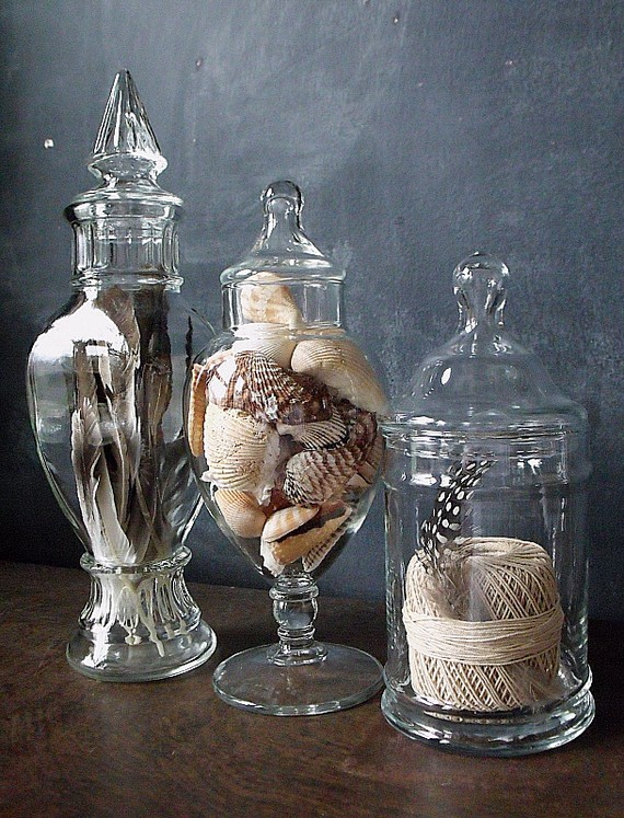 18 Ideas To Decorate With Glass Apothecary Jars Decoholic