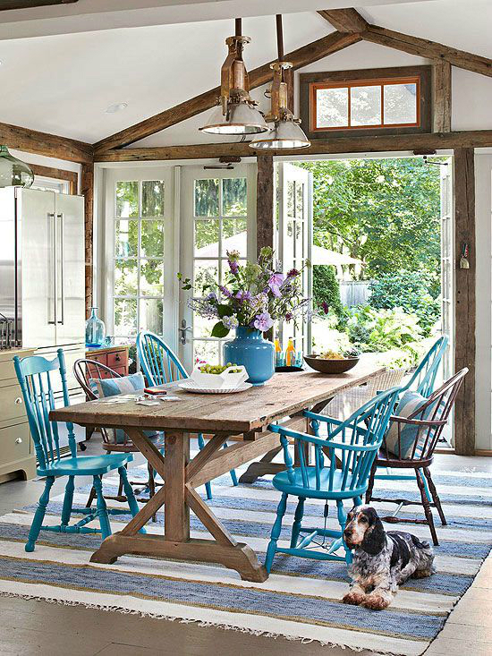 Mix And Match Furniture Dining Room Ideas 4