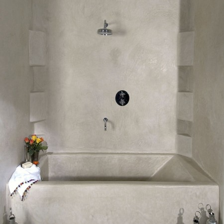 Tadelakt Bathroom Design Ideas 11