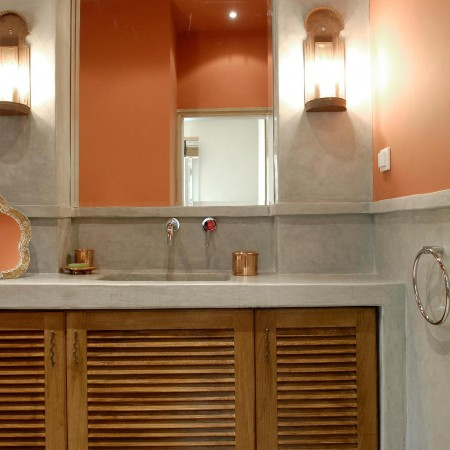 Tadelakt Bathroom Design Ideas 13