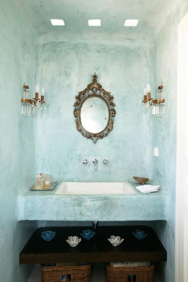 Tadelakt Bathroom Design Ideas 22
