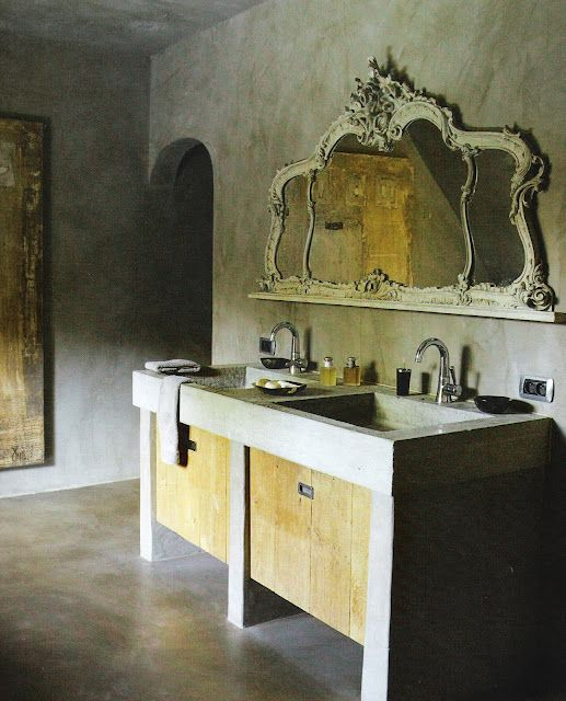 Tadelakt Bathroom Design Ideas 24