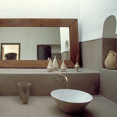 Tadelakt Bathroom Design Ideas 25