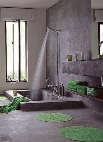 Tadelakt Bathroom Design Ideas 26