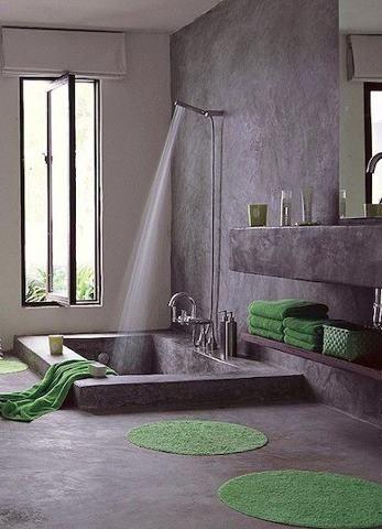 Tadelakt Bathroom Design Ideas 26