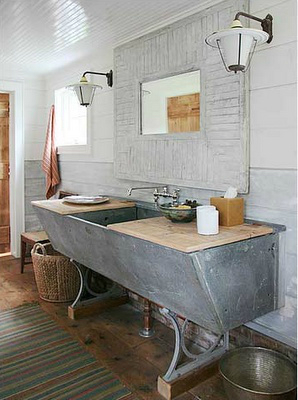 vintage style in basin