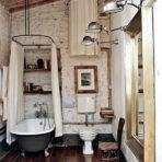 vintage style and bathtub