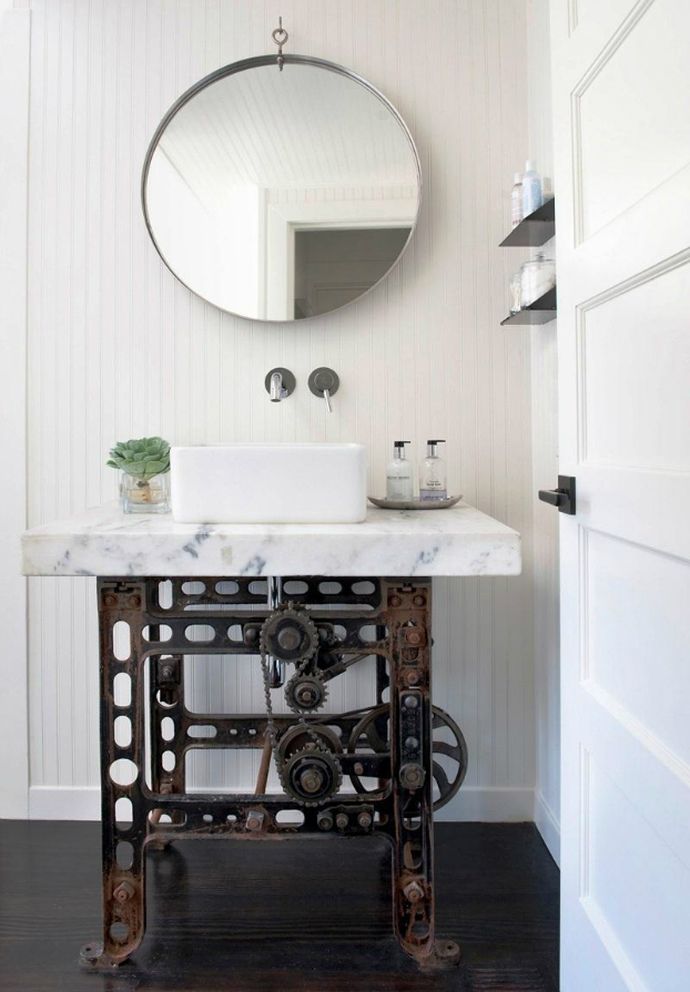 bathroom design vintage industrial 13. 20 Bathroom Designs With Vintage Industrial Charm   Decoholic