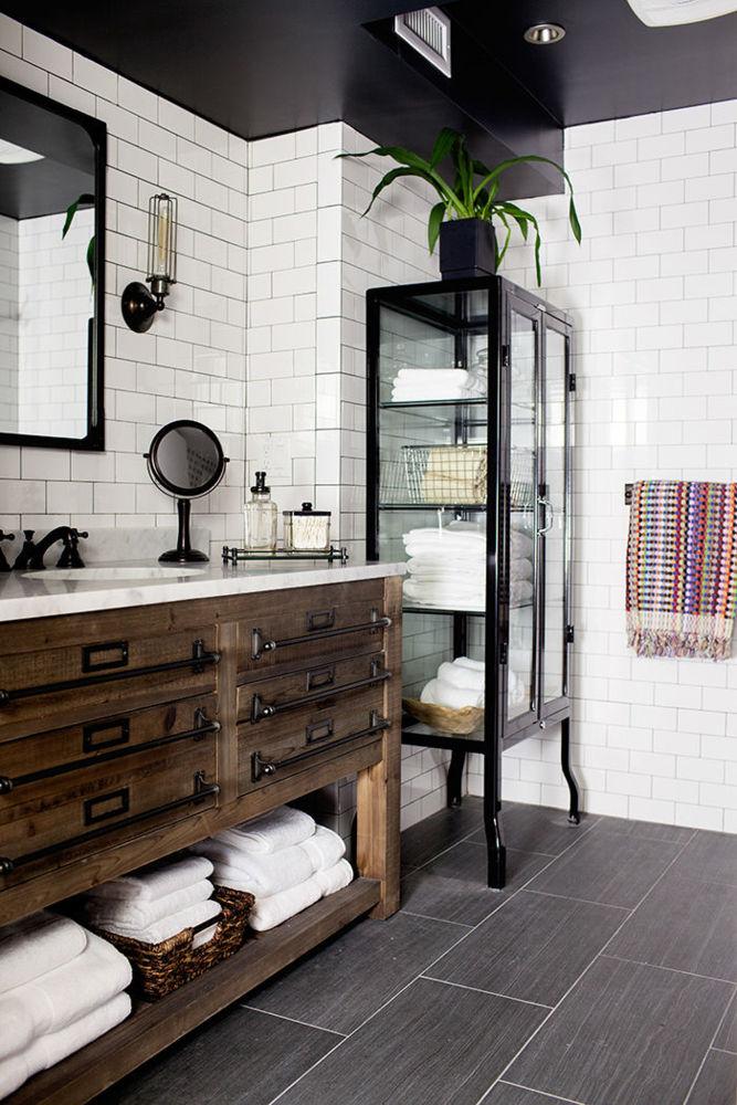 white tiles in decor