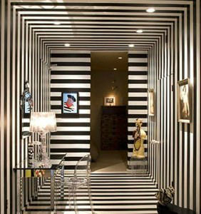 Black And Hite Stripes Home Decor Trends 2014