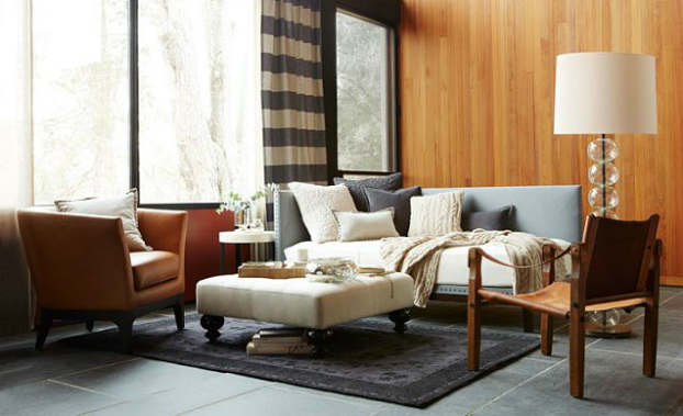 Cozy Daybed Living Room Decorating Idea