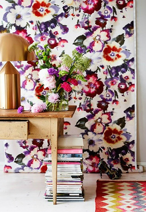 Floral Home Decor Trends 2014
