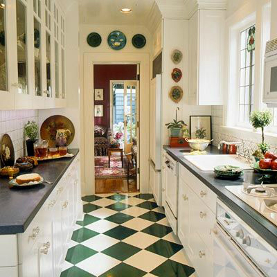 White Country Galley Kitchen 47 best galley kitchen designs - decoholic