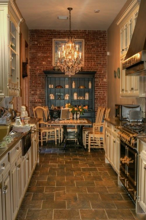 47 Best Galley Kitchen Designs - Decoholic Refrigertor With Against Wall Condo Kitchen Design Ideas on