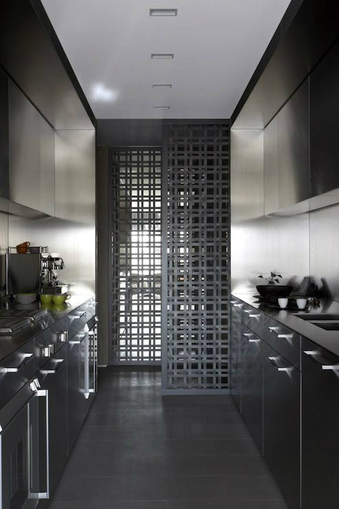 best galley kitchen designs  decoholic,Modern Galley Kitchen,Kitchen ideas