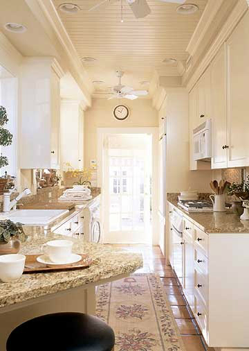 Small Galley Kitchen Design Ideas With White Appliances ~ Best galley kitchen designs decoholic