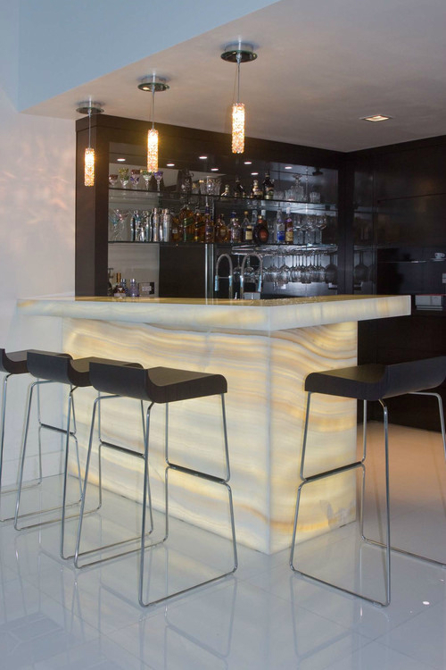 Stunning home bar areas decoholic - Home bar counter design photo ...