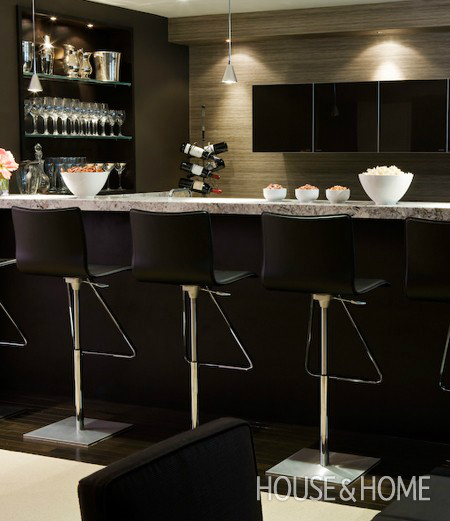 Home Design Basement Ideas: Stunning Home Bar Areas