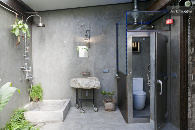 Industrial Chic Bathroom Industrial Chic Apartment