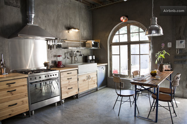 industrial chic apartment with an inviting appeal decoholic