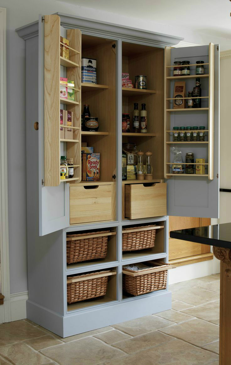 Free standing kitchen pantry : old pantry cabinet - Cheerinfomania.Com