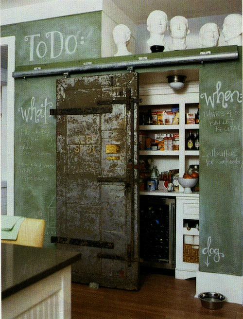 Industrial kitchen pantry