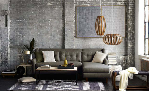 luxe living room decorating idea
