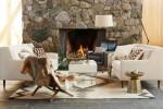 mid century luxe living room