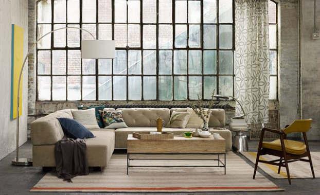 modern modular living room
