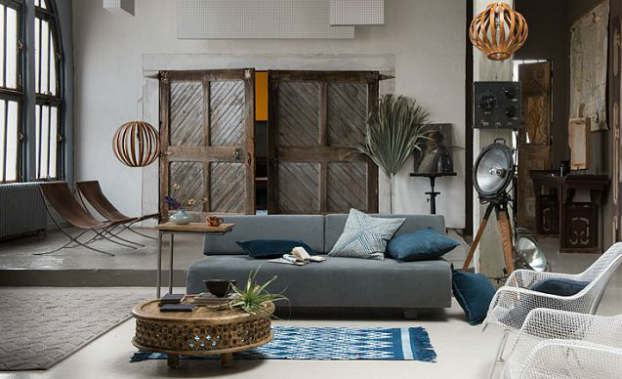 modern moroccan living room decorating idea