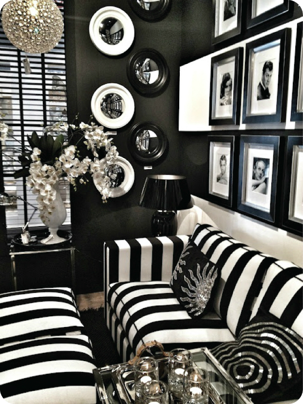 14 home trends for 2014 decoholic - Adorable iconic furniture design adapts black and white color ...