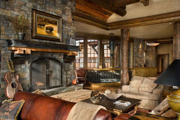 40 Awesome Rustic Living Room Decorating Ideas - Decoholic