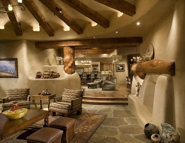 40 awesome rustic living room decorating ideas decoholic - Italian inspired living room design ideas ...