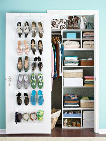 Storage Over-the-Door Shoe Organizer