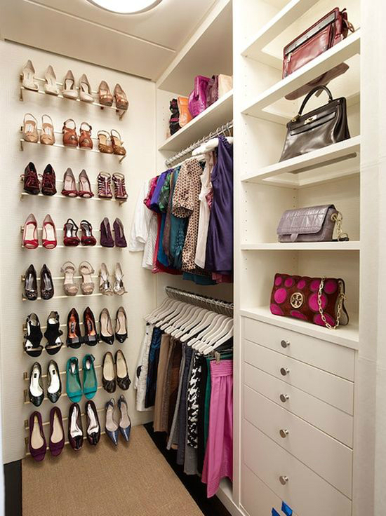 Storage Over-the-Door Shoe Organizer · Putting the shoes on an end wall & 20 Clever Shoe Storage Ideas - Decoholic