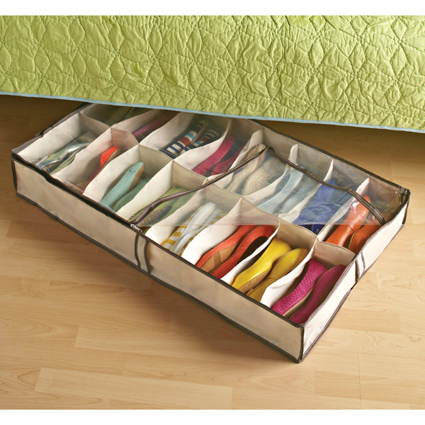 Under the Bed Shoe Container