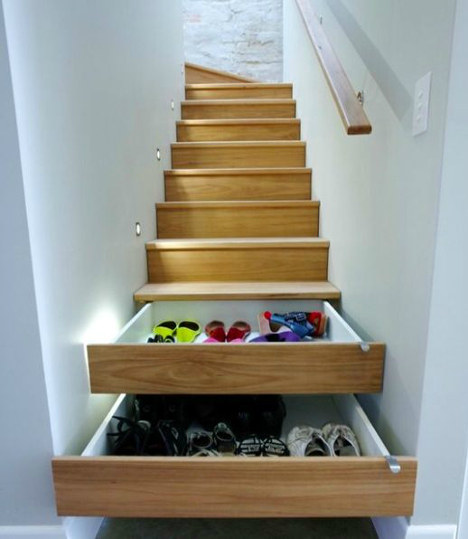 20 Clever Shoe Storage Ideas Decoholic : shoe storage idea from decoholic.org size 518 x 596 jpeg 132kB