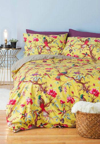 Flora and Fauna and Fabulous Duvet Cover Set