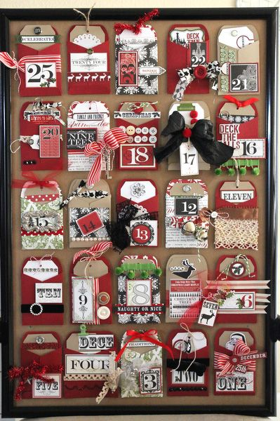 Christmas advent calendar ideas 13