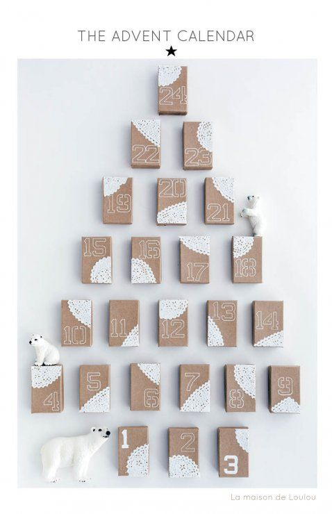 Christmas advent calendar ideas 2