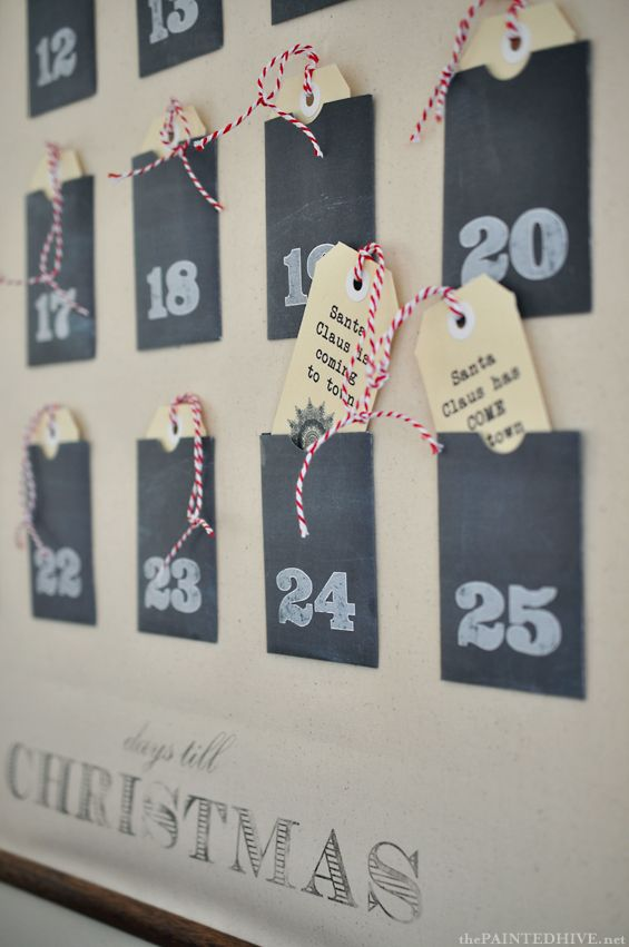 Christmas advent calendar ideas 21